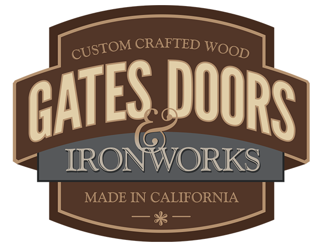 branding, logo design, oregon - Gate Doors Ironworks