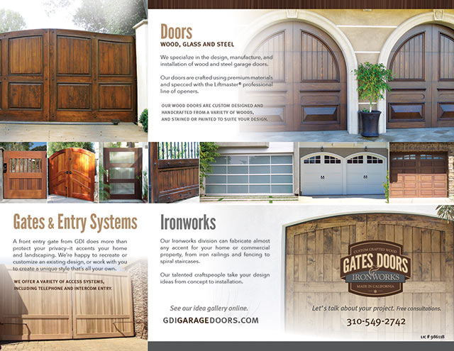 websites, seo, online marketing - Gate Doors Ironworks