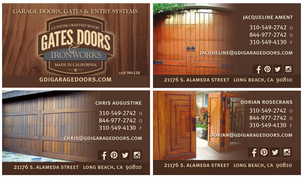 print graphic design oregon - Gate Doors Ironworks