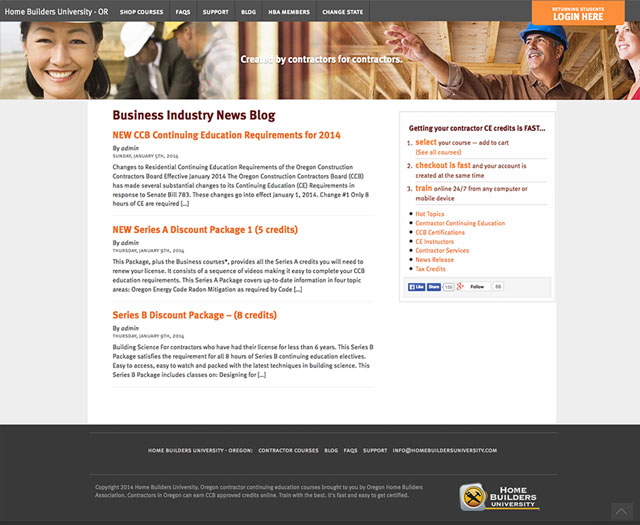 website design salem oregon - home builders university